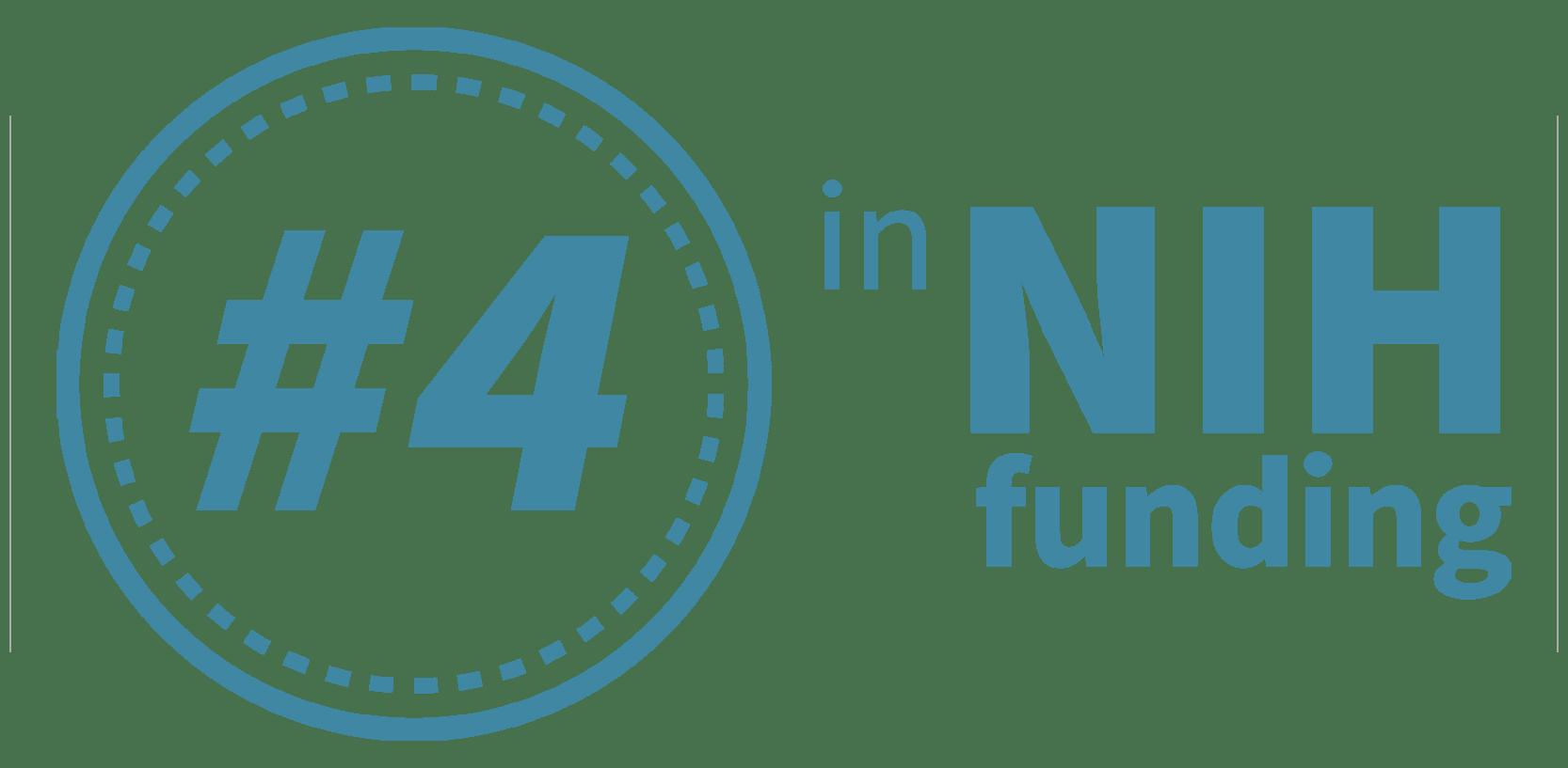 Number 2 NIH funding