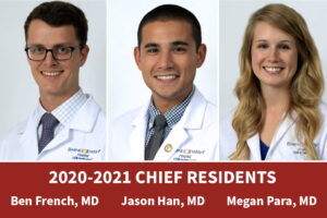 Anesthesiology Chief Residents 20-21