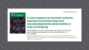 Dr. Palanisamy's recent publication in JCI Insight journal