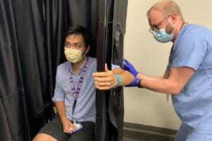 Washington University MMR vaccine trial for COVID-19