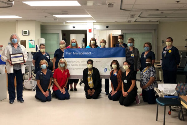PRC Honors CAM Pain Management Center with 5-Star award for patient experience
