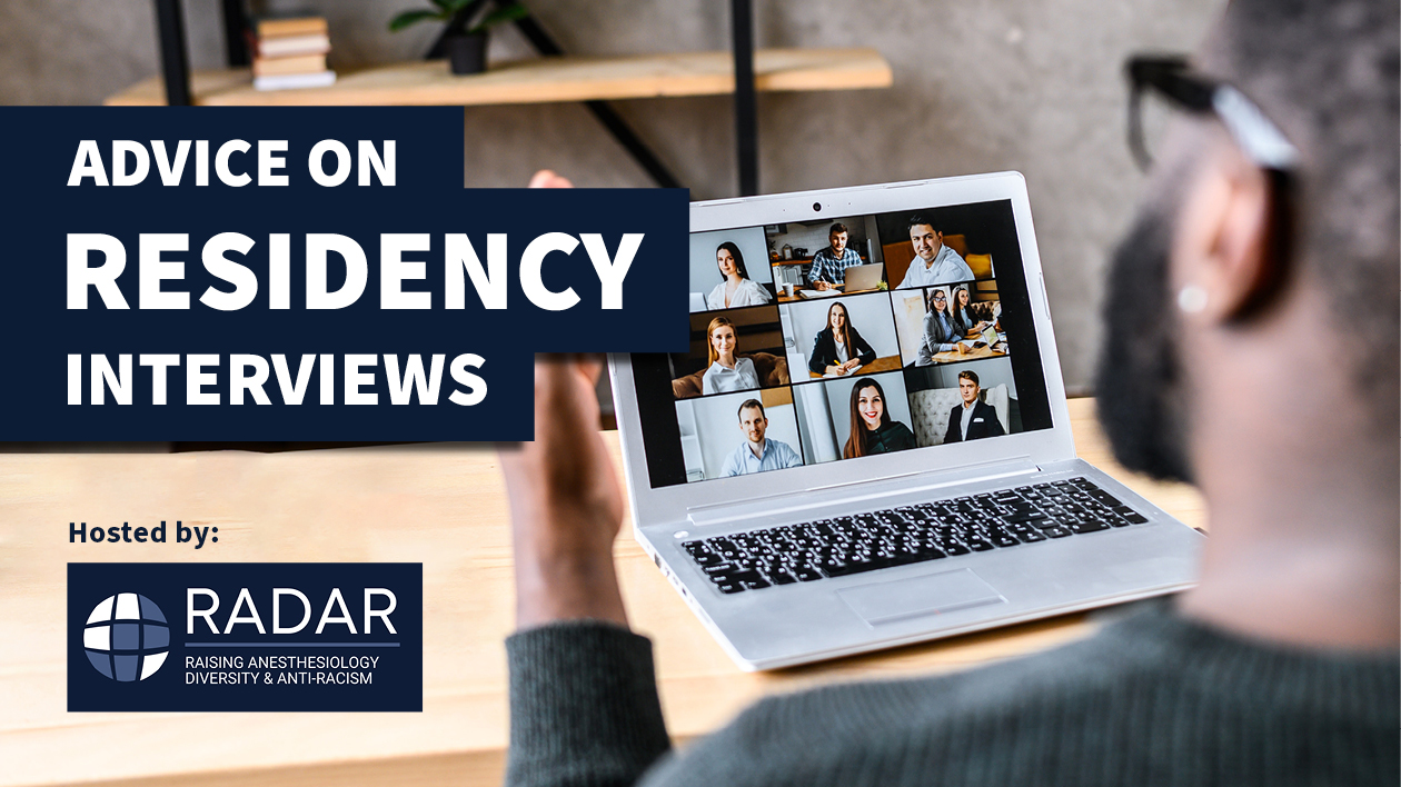 Advice on residency interviews event
